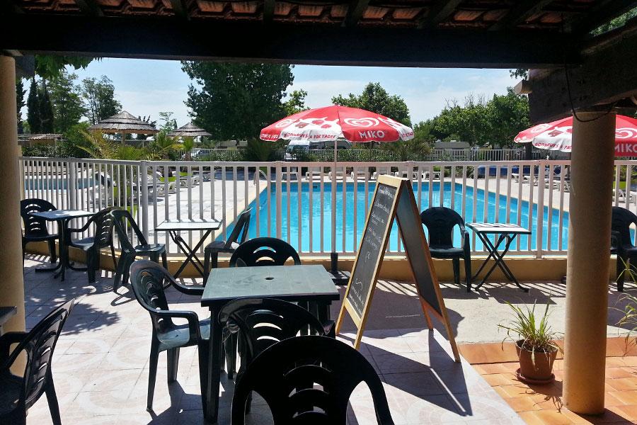 Bar van camping l'Arlesienne