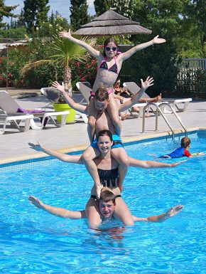 Family camping holidays in Arles